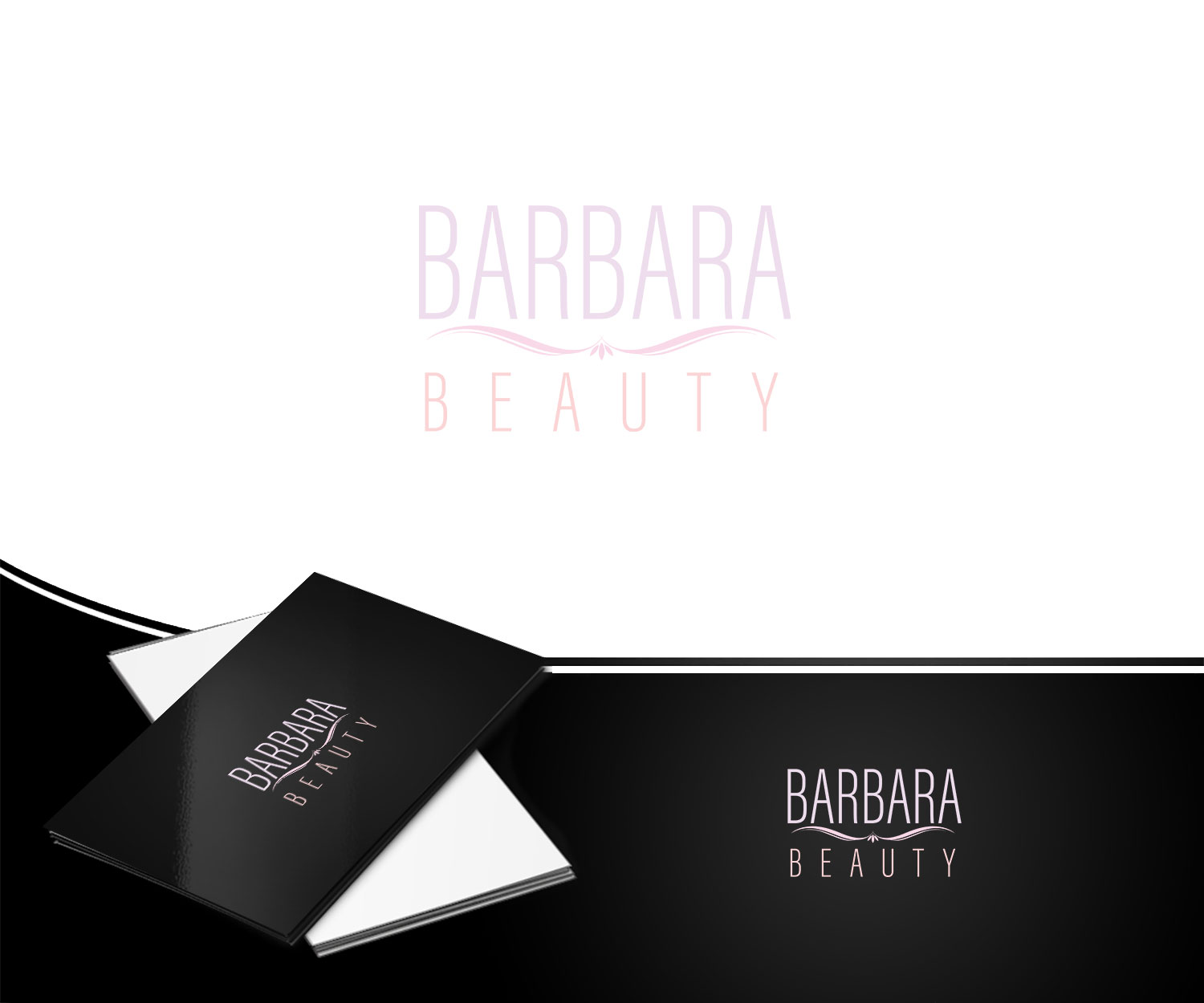 Salon Creation Elegant Playful Beauty Salon Logo Design For Barbara Beauty By