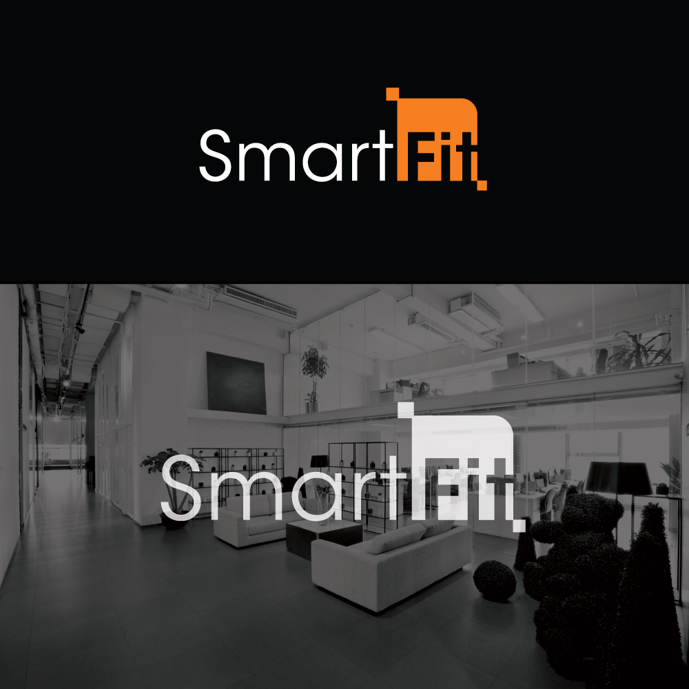 Deko Modern Modern Professional Architecture Logo Design For Smart Fit Or