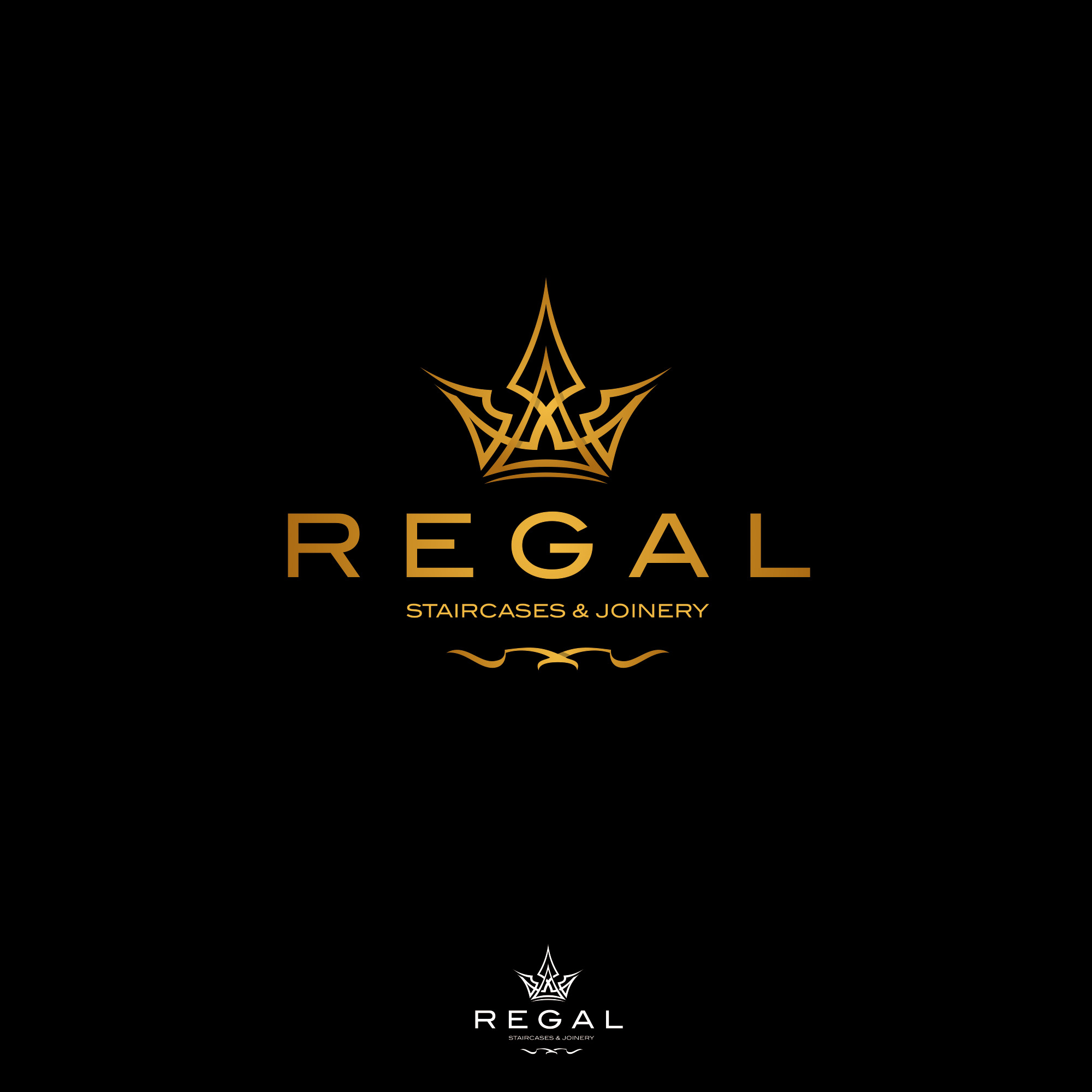Regal Design Elegant, Serious, Building Logo Design For Regal Staircases & Joinery By Bognar | Design #23680410