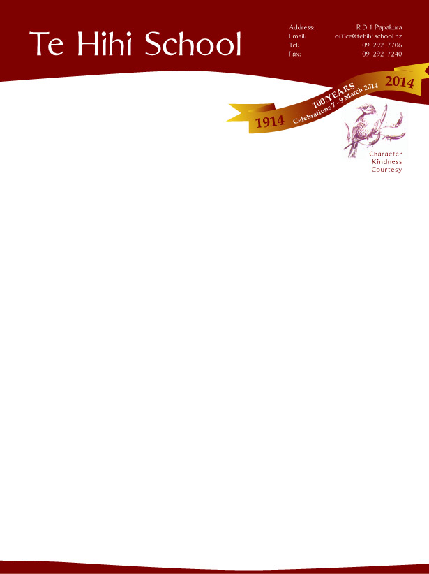 Elegant, Personable, School Letterhead Design for a Company by