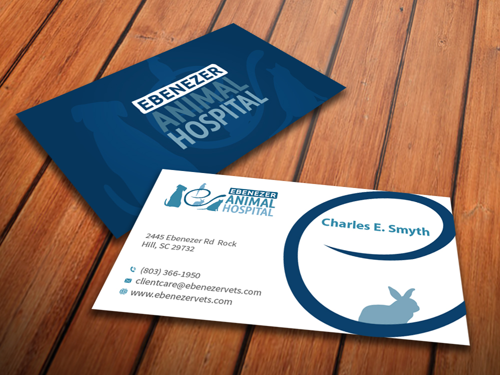 Veterinary Business Cards | cvfree.pro