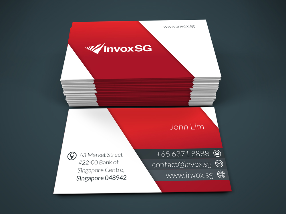 Modern, Serious, Financial Name Card Design for a Company by