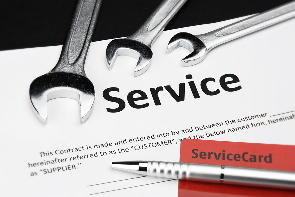 Service Contracts and Extended Warranties \u2013 Consumer  Business - service contract