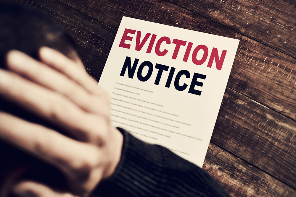 Eviction \u2013 Consumer  Business