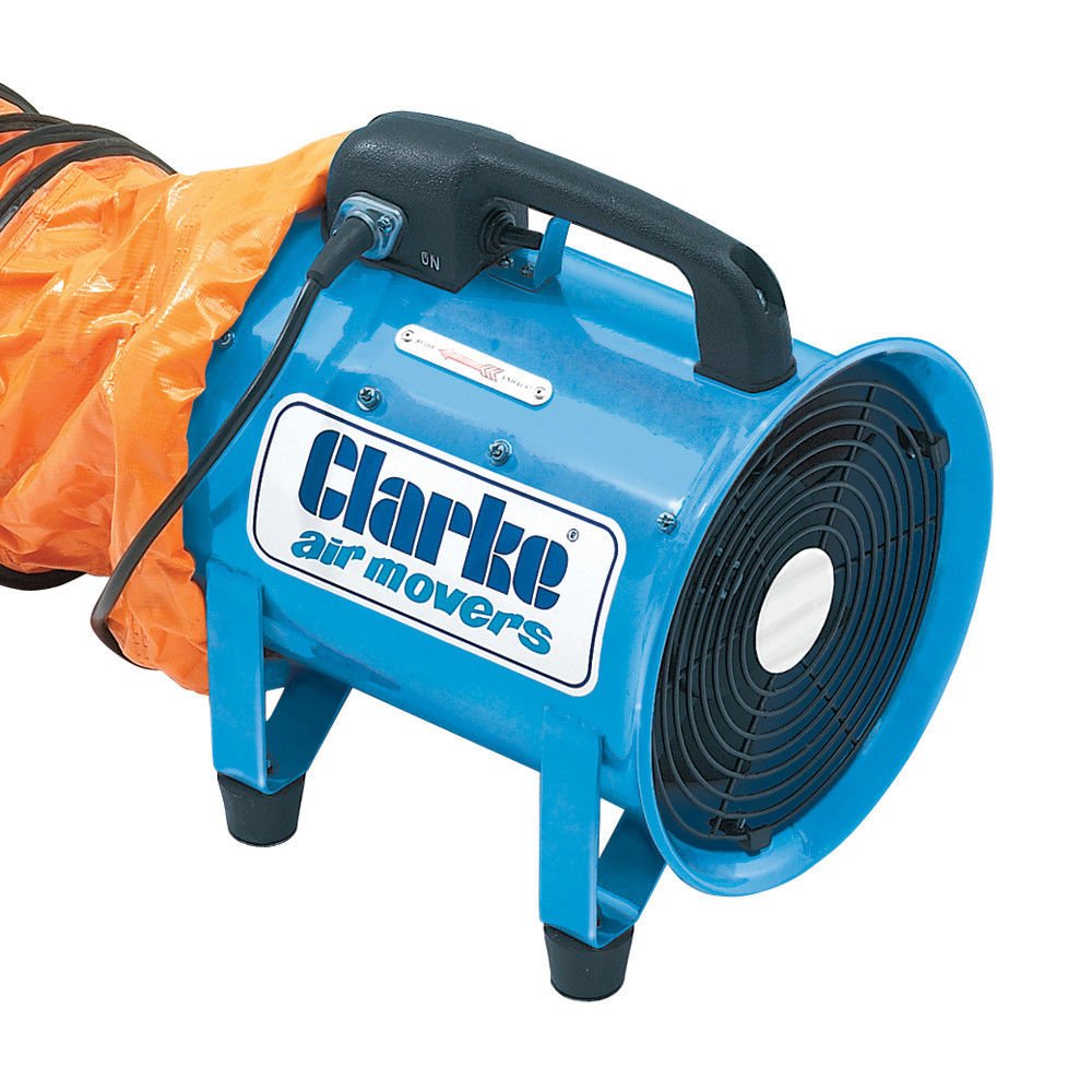 Portable Extractor Fan Clarke Cam200 Portable Ventilator Machine Mart Machine Mart