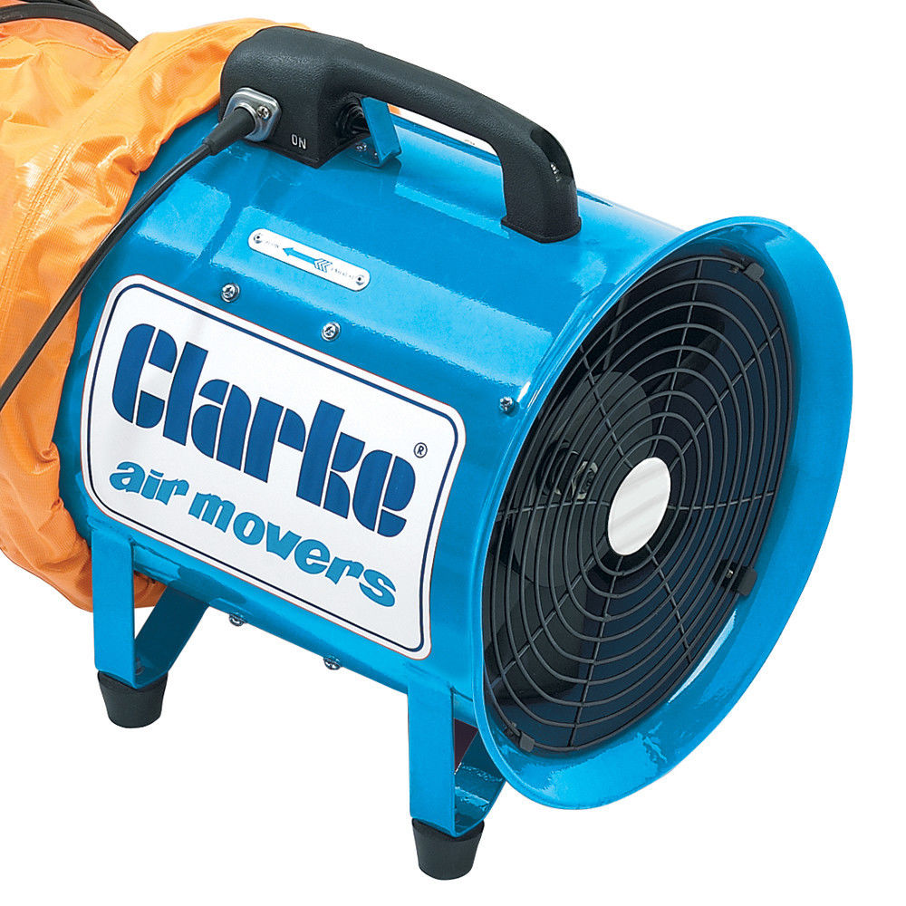 Portable Extractor Fan Clarke Cam300 Portable Ventilator Machine Mart Machine Mart