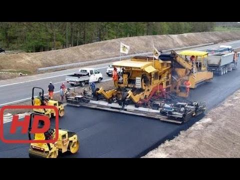 Funny Machine Modern Road Construction Russia USA Germany Australia