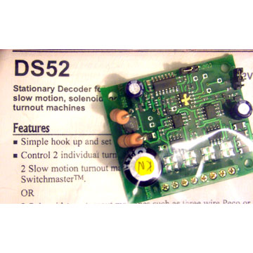 SWITCH CONTROL  RELATED PRODUCT, DCC Installs and Sales