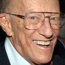Dr. Leon Eisenberg at the Julius Richmond 90th Birthday Symposiu