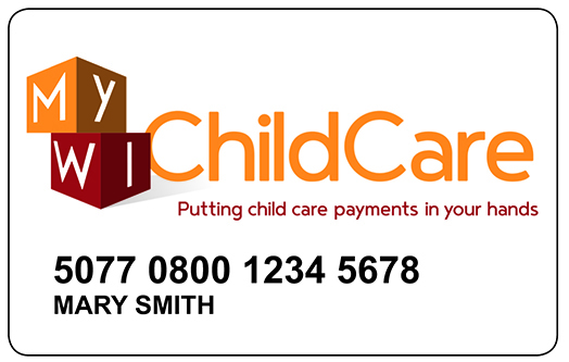 MyWIChildCare EBT Card Home Page
