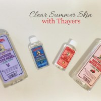 How to Get Clear Summer Skin with Thayers