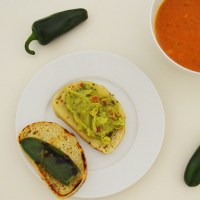 Jalapeño Guacamole Grilled Cheese
