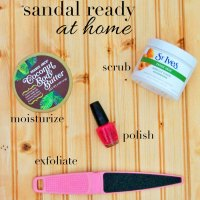 Get Sandal Ready At Home