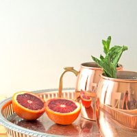 Thirsty Thursday: Blood Orange Mint Moscow Mules
