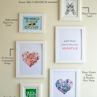 Weekend Warrior DIY: Gallery Wall on a Budget