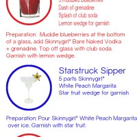 Fourth of July Cocktails with Skinnygirl