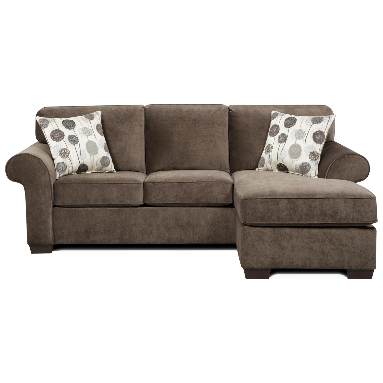 Chaises Elizabeth Worcester Transitional Sleeper Sofa Chaise Elizabeth Ash Dcg