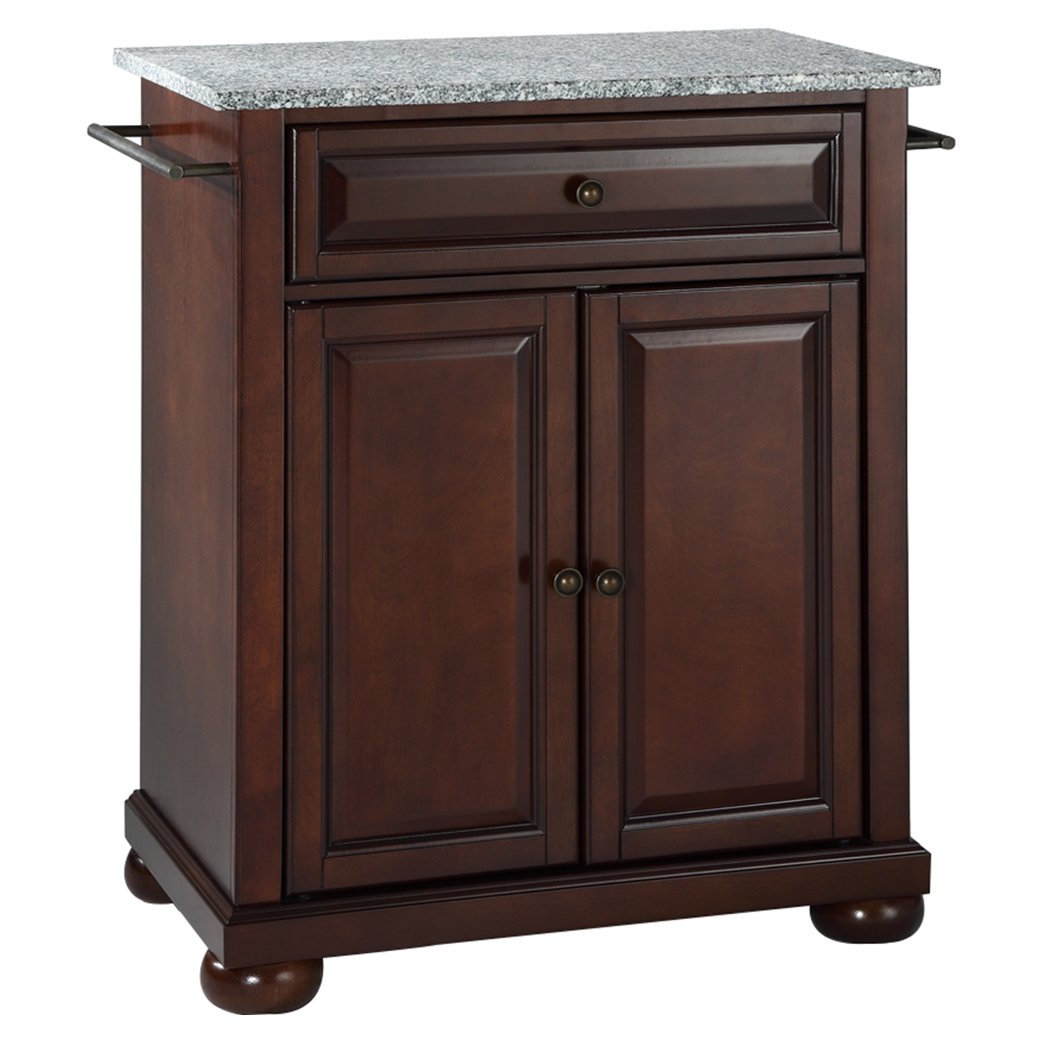 Portable Kitchen Island With Granite Top Alexandria Solid Granite Top Portable Kitchen Island