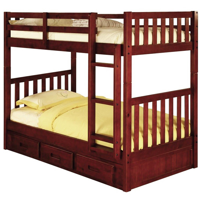 Twin Bed Slats Mcallister Twin Over Twin Bunk Bed - Slats, Bead Board