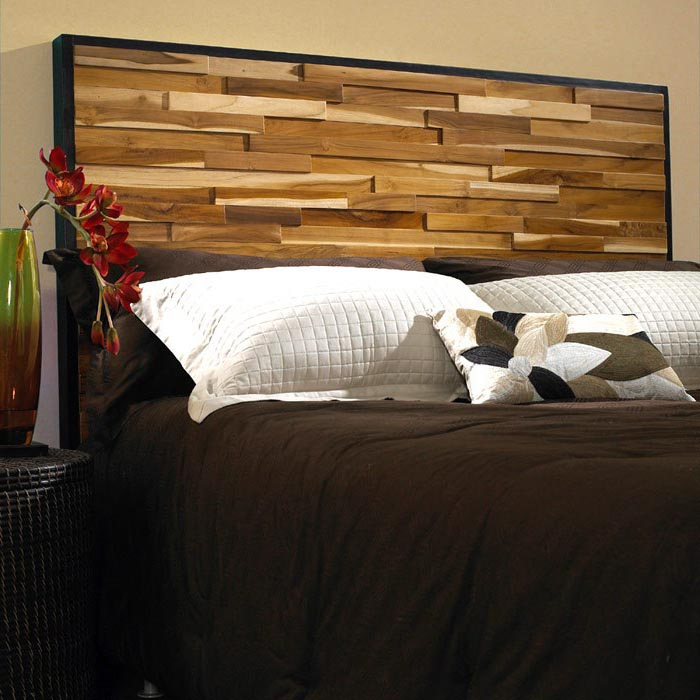 Kitchen Cabinets And Islands For Sale Reclaimed Teak Wood Headboard - Natural, Dark Stained