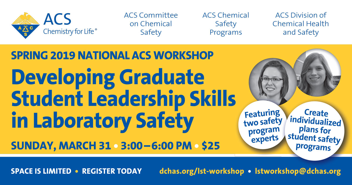 Developing Graduate Student Leadership Skills in Laboratory Safety
