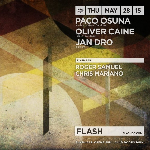 Paco Osuna, Oliver Caine, Jandro at Flash with Roger Samuel & Chris Mariano in the Flash Bar