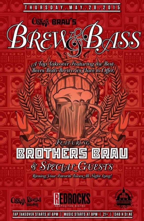 Oskar Brau's Brew & Bass Tap Takeover at Red Rocks
