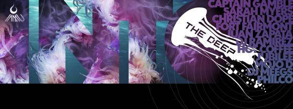 Into the Deep, feat. Jubilee, Philco, Danny House, Fort Fairmont, Meegs, Hot Coffee, Sarah Myers and Juan Zapata at The Dance Loft on 14th