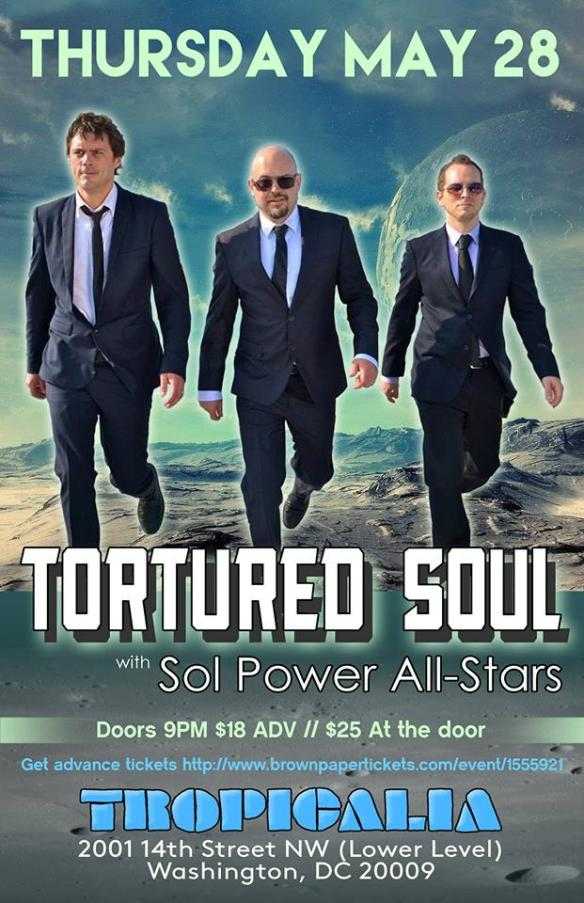 Tortured Soul with Sol Power All Stars at Tropicalia