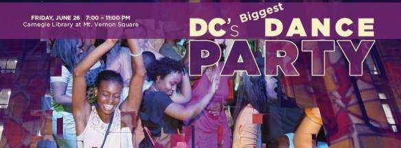 DC's Biggest Dance Party with DJ Quicksilva and Rusty B at Carnegie Library at Mount Vernon Square