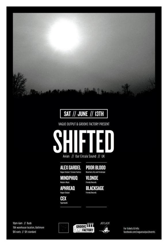Vague output presents SHIFTED