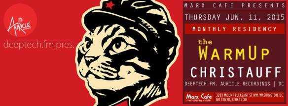 DeepTechFM pres. The WarmUp with Christauff at The Marx Cafe