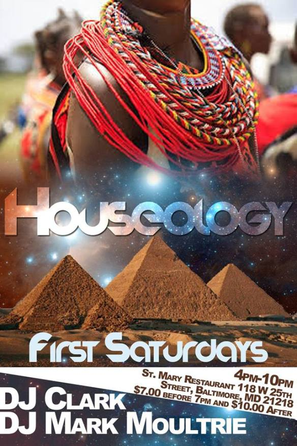 Houseology: Hot Hot Hot Day Party with Tony Daniels, DJ Clark & Mark Moultrie at St. Marys Restaurant & Lounge, Baltimore