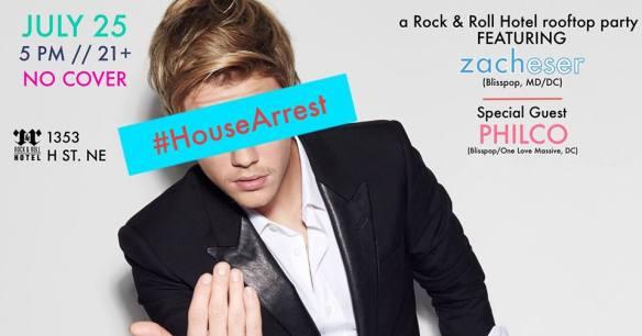 #HouseArrest   zacheser + PHILCO on the Rock'n'Roll Hotel Rooftop