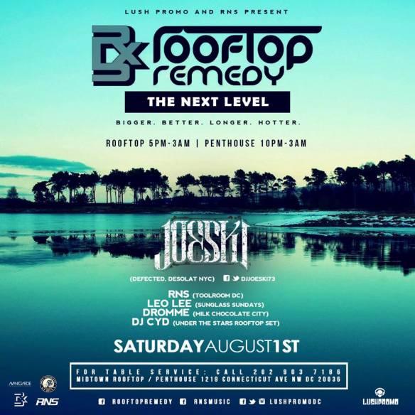 Joeski, RNS, Leo Lee, Dromme, DJ CYD and Mr Pick4D at Midtown Rooftop / Penthouse