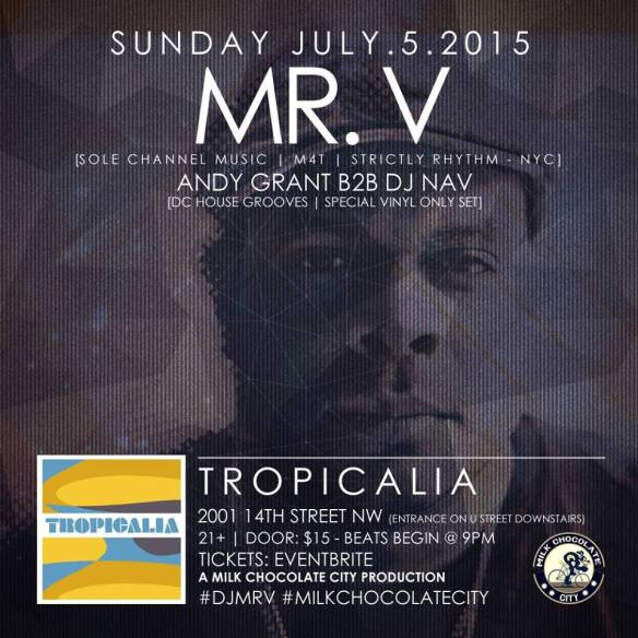 The Return of Mr. V Presented by Milk Chocolate City at Tropicalia