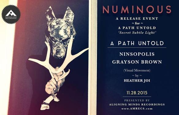 Numinous: Launch Event for A Path Untold - Secret Subtle Light LP at Secret Location, Baltimore