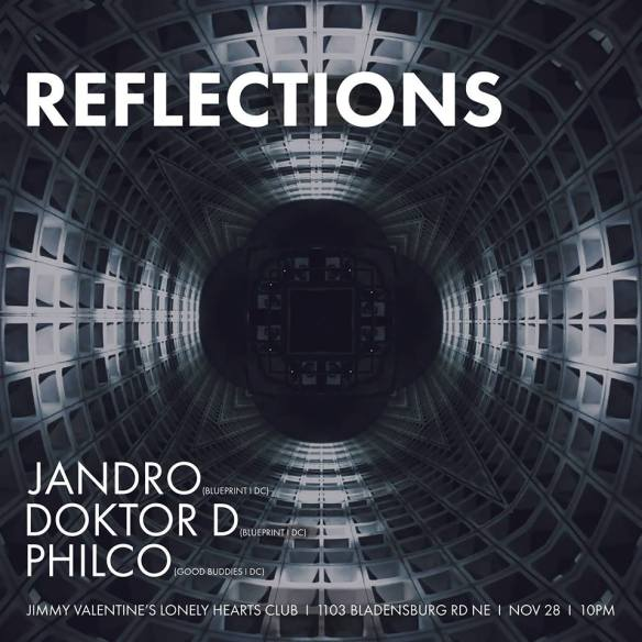 Reflections with Jandro, Doktor D and Philco at Jimmy Valentine's Lonely Hearts Club