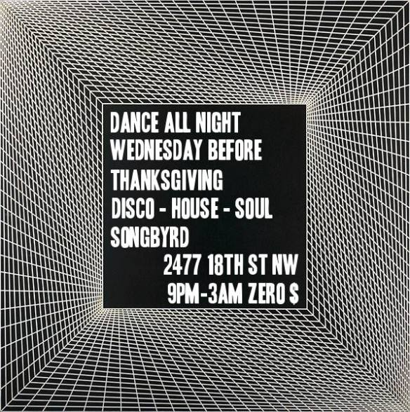 Gratitude Dance Party with DJ Andrew Hogans, DH Aphrosoul and DJ KC at Songbyrd
