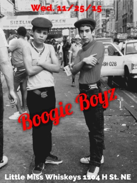 Boogie Boyz (DJs Adrian Collazo & Omar Martinez) at Little Miss Whiskey's Golden Dollar