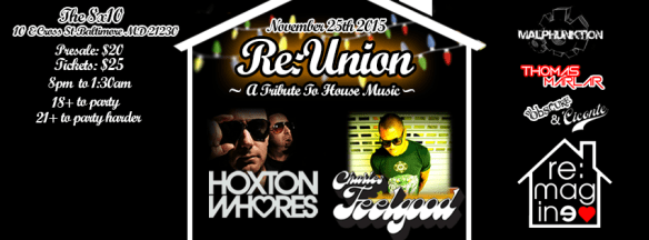 Re:Union w/ Hoxton Whores and Charles Feelgood at the 8x10, Baltimore