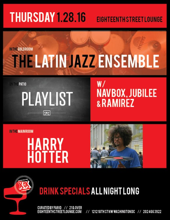 Playlist with Navbox, Jubilee & Ramirez at Eigtheenth Street Lounge
