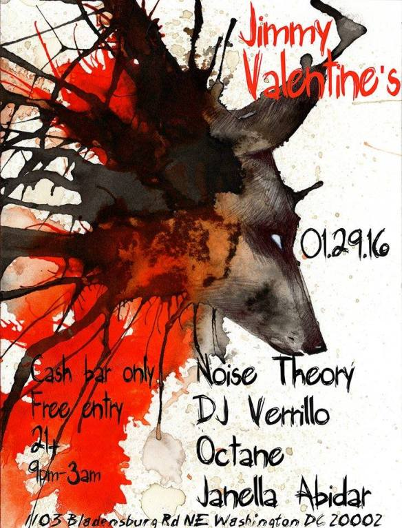 QuadTech feat. Octane, Janella Abidar, Noise Theory & DJ Verrillo at Jimmy Valentine's Lonely Hearts Club