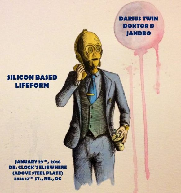 Silicon Based Lifeform with Doktor D, Darius Twin & Jandro at Steel Plate