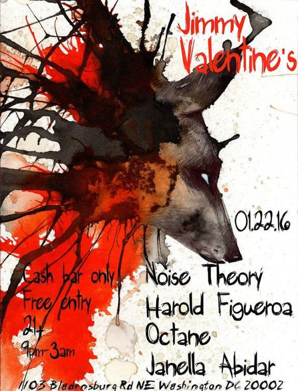QuadTech feat. Octane, Janella Abidar, Noise Theory & Harold Figueroa at Jimmy Valentine's Lonely Hearts Club