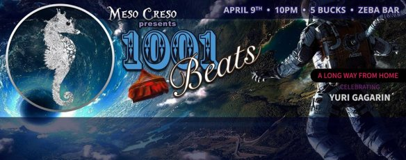 Meso Creso 1,001 Beats presents: A Long Way From Home with special guest Empresarios at Zeba Bar