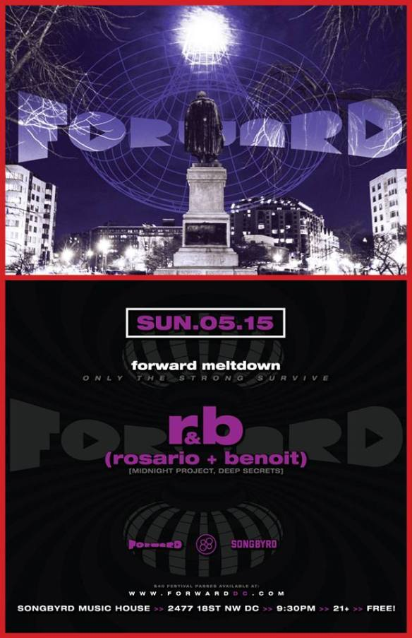 FORWARD Meltdown with Rosario & Benoit at Songbyrd Music House and Record Café
