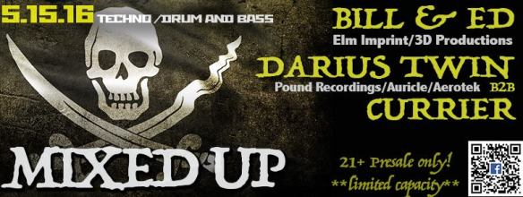 Elm Imprint Presents: Mixed Up with Bill & Ed, Darius Twin & Currier on the Boomerang Pirate Ship