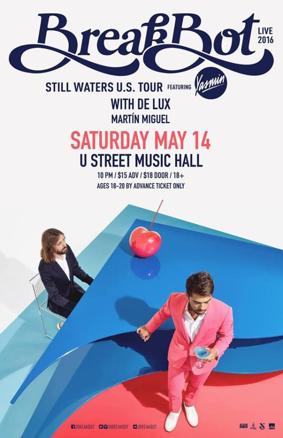 SOLD OUT: Breakbot with De Lux, Martín Miguel at U Street Music Hall