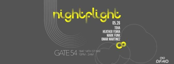 Nightflight with Tova, Heather Femia, Mark Funk and Omar Martinez at Cafe Saint-Ex
